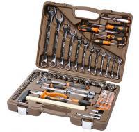 Набор инструмента  88 предмета  торцевые головки 4-32 мм и аксессуары к ним 055015